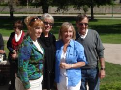 Mary Jo Borley Sarkis, Sue Choudoir Spilman & husband, Mary Jo Kutter Querry &